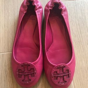 Pink Fiusha Tory Burch Flats